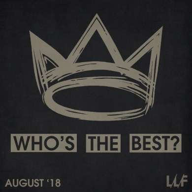Who's the best of the month: August 2018 (VOTING) | Reactions | LIVING LIFE FEARLESS