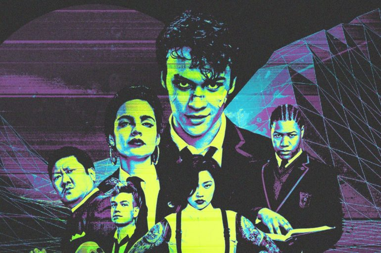 SYFY's 'Deadly Class': Notes from the '80s Underground | Features | LIVING LIFE FEARLESS