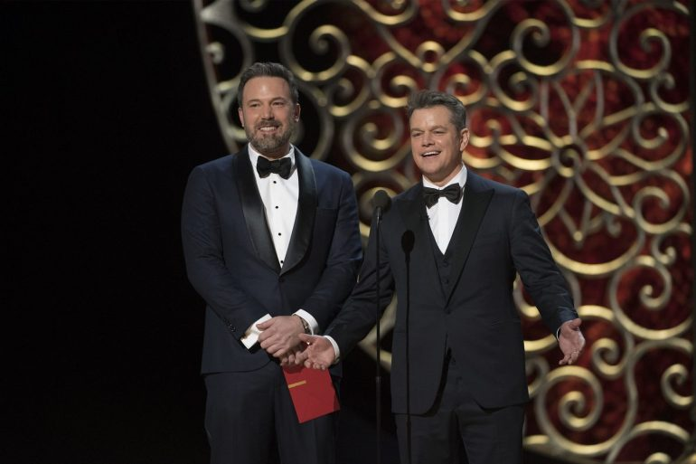 Matt Damon and Ben Affleck co-writing first screenplay since 'Good Will Hunting'