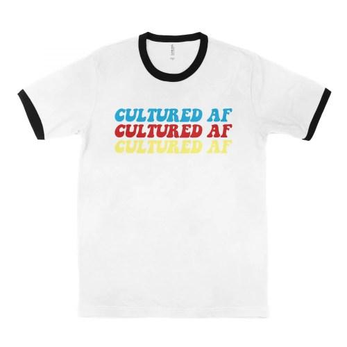 Cultured AF Multicolor Ringer Tee | Shop | LIVING LIFE FEARLESS
