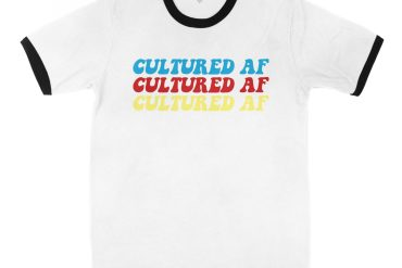 Cultured AF Multicolor Ringer Tee | Shop | LIVING LIFE FEARLESS