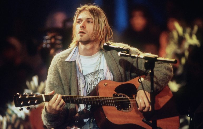Kurt Cobain's 'MTV Unplugged' cardigan sells for a record-setting $334,00 | News | LIVING LIFE FEARLESS