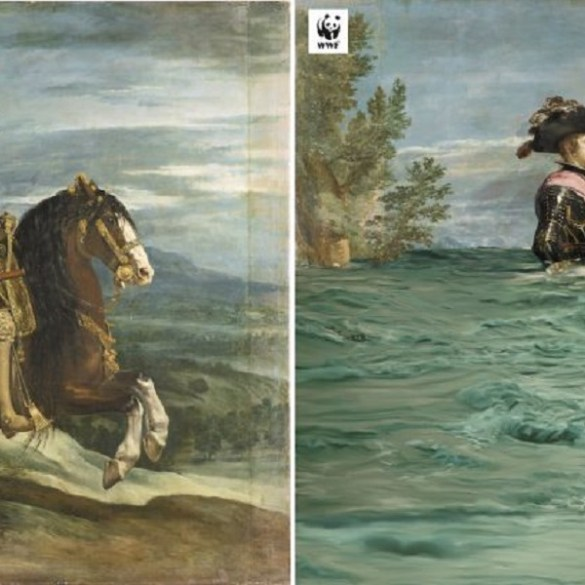 Museo del Prado digitally alters masterpieces to show the effects of climate change | News | LIVING LIFE FEARLESS