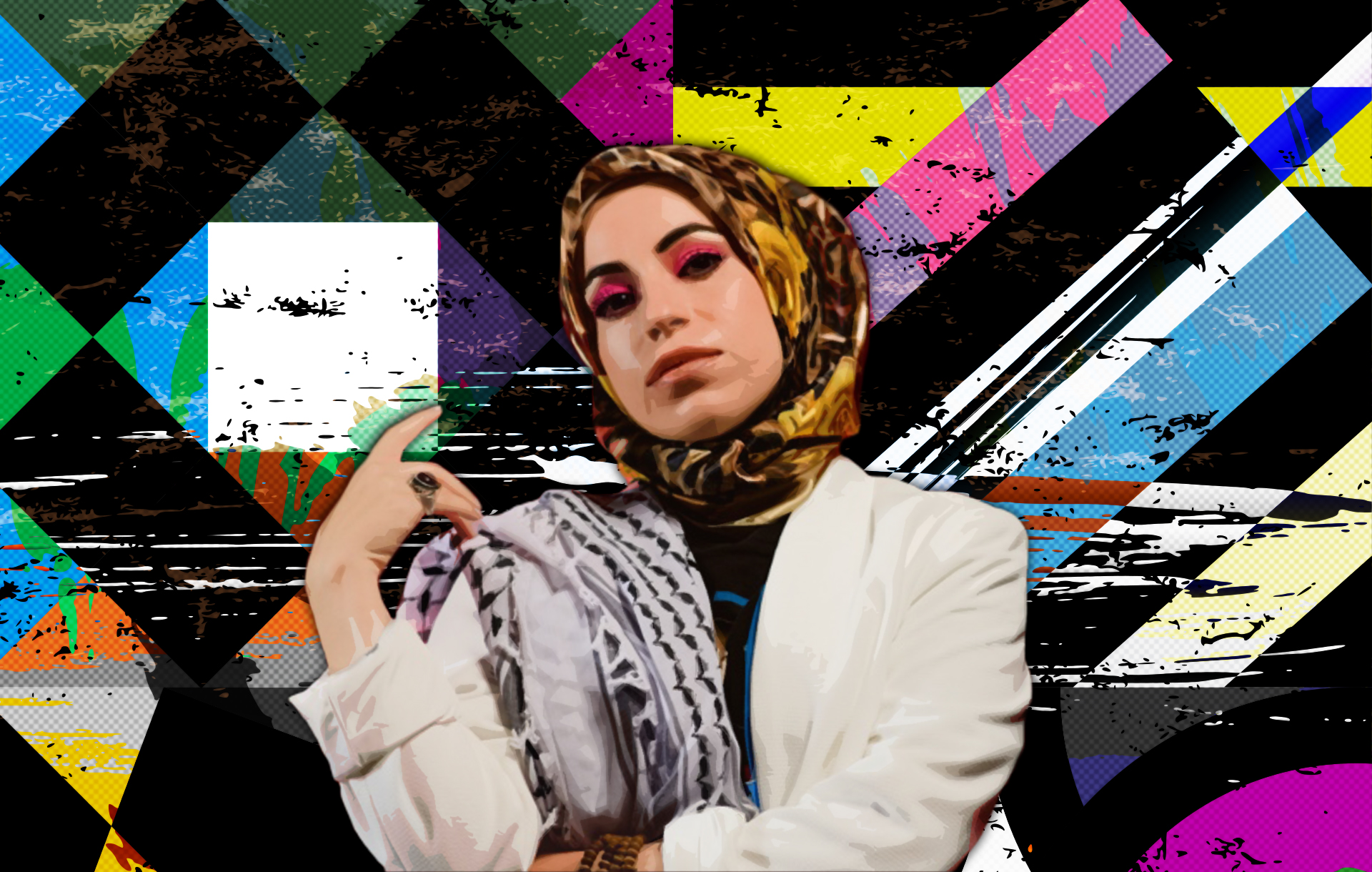 """""""They All Hate Me"""" - How Hijabi Rapper Mona Haydar Has Confounded Western and Muslim Audiences Alike   Features   LIVING LIFE FEARLESS"""