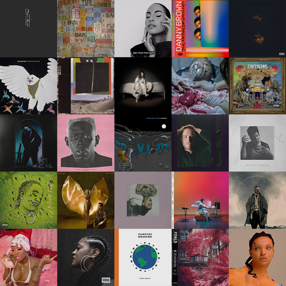 THE Official List Of The Top 25 Albums of 2019 | Features | LIVING LIFE FEARLESS