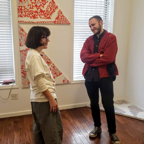 Scarlett Lingwood : 'Triangles And The Shapes In Between'   Sidequest Gallery   Photos   LIVING LIFE FEARLESS