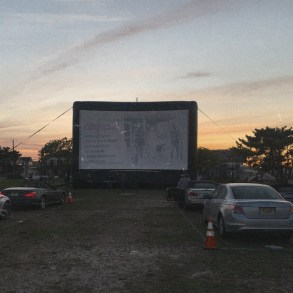 Opening night - outside - at the Lighthouse Film Festival | Features | LIVING LIFE FEARLESS