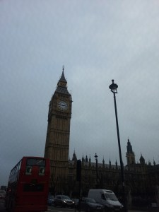 big ben and milenium wheel