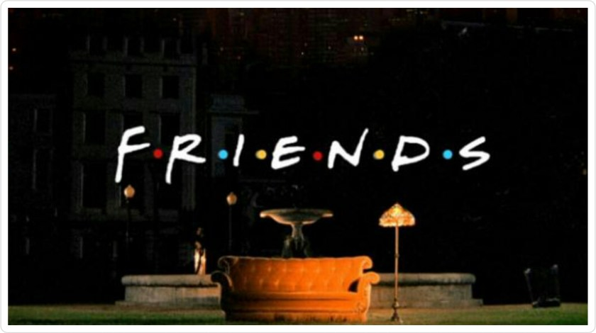 Friends, sitcom, american sitcom, 1990s, TV show
