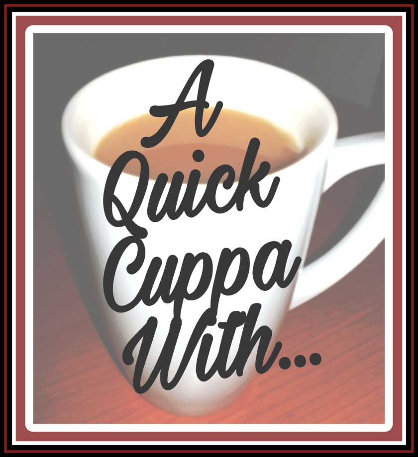 A Quick Cuppa With, The Speed Bump, blogger, guest post, interview, Q and A