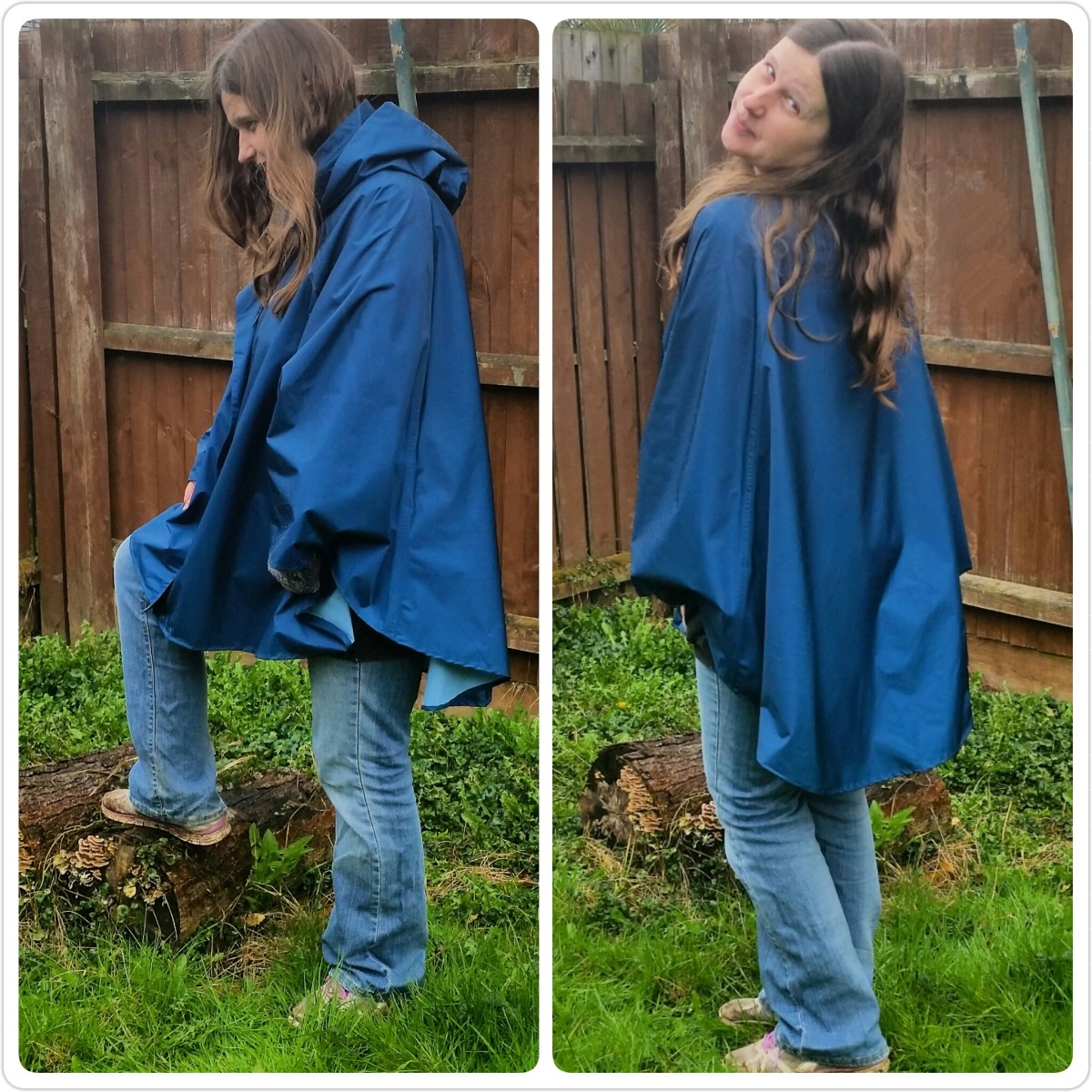 November Rain Poncho: Review and Giveaway