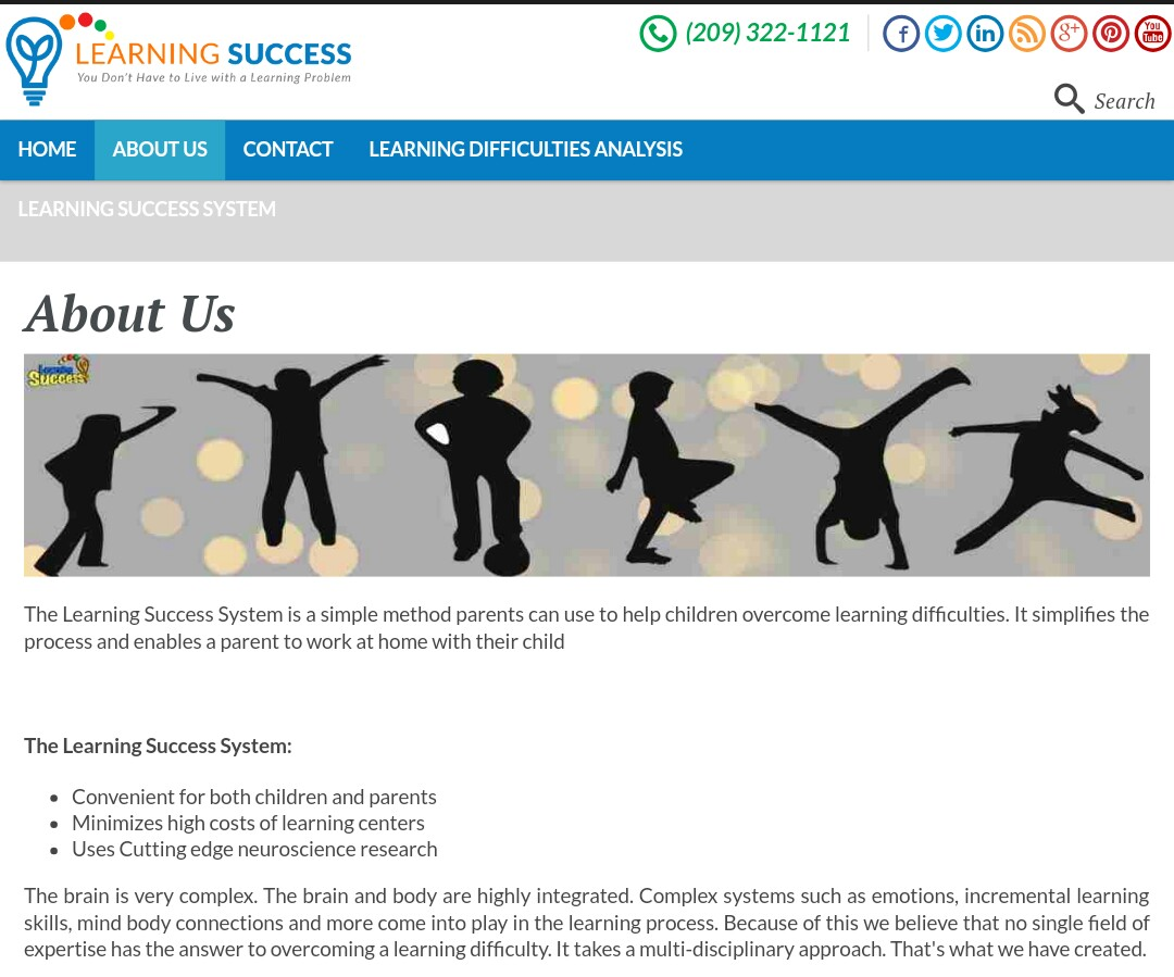 Learning Success System: Help Your Child To Thrive! (Review and Giveaway)