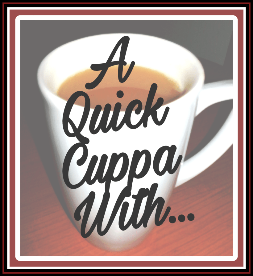 A Quick Cuppa With, The Opinionated Dad, blogger, interview, Living Life Our Way, guest series, Q and A