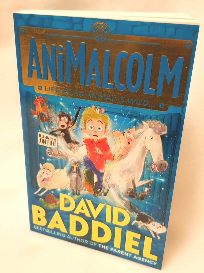 AniMalcolm, book, childrens story, book review, kids stories, david baddiel, literacy, reading, animal lovers, young readers