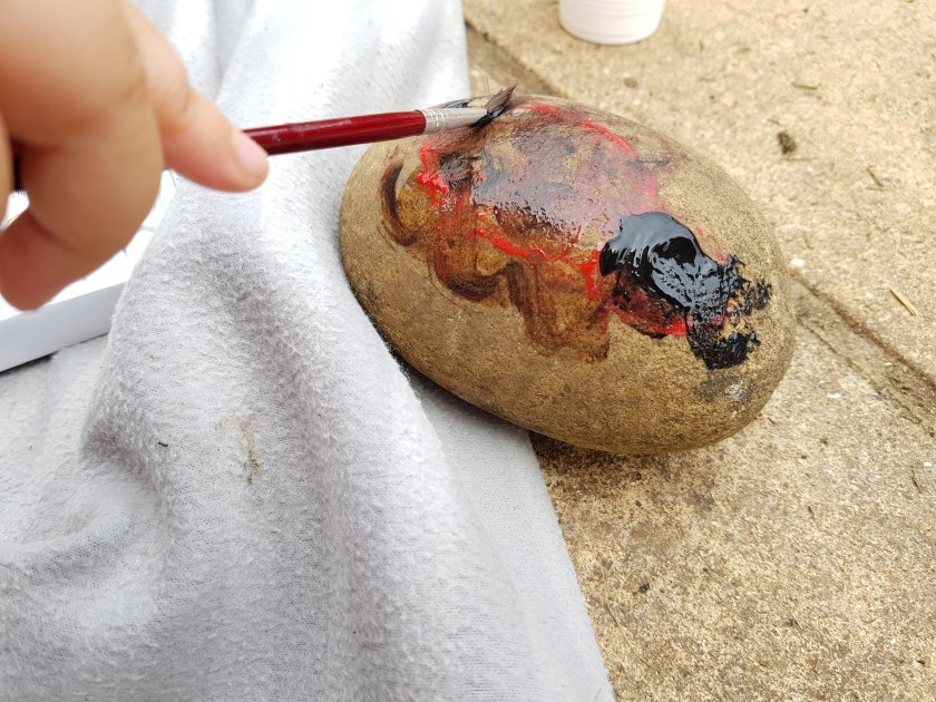 painted rocks, rock hunt, St Albans Rocks UK, Hertfordshire, get outside, kids need nature, outdoors, 30 days wild, #30dayswild, #staywild, #livinglifewild