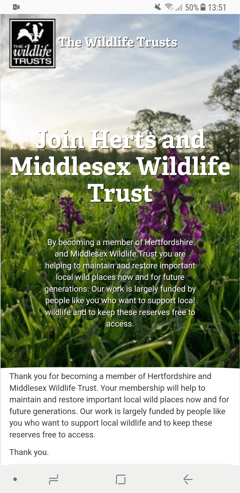 The Wildlife Trusts, Hertfordshire, 30 Days Wild, #StayWild, #LivingLifeWild, membership, wildlife, nature