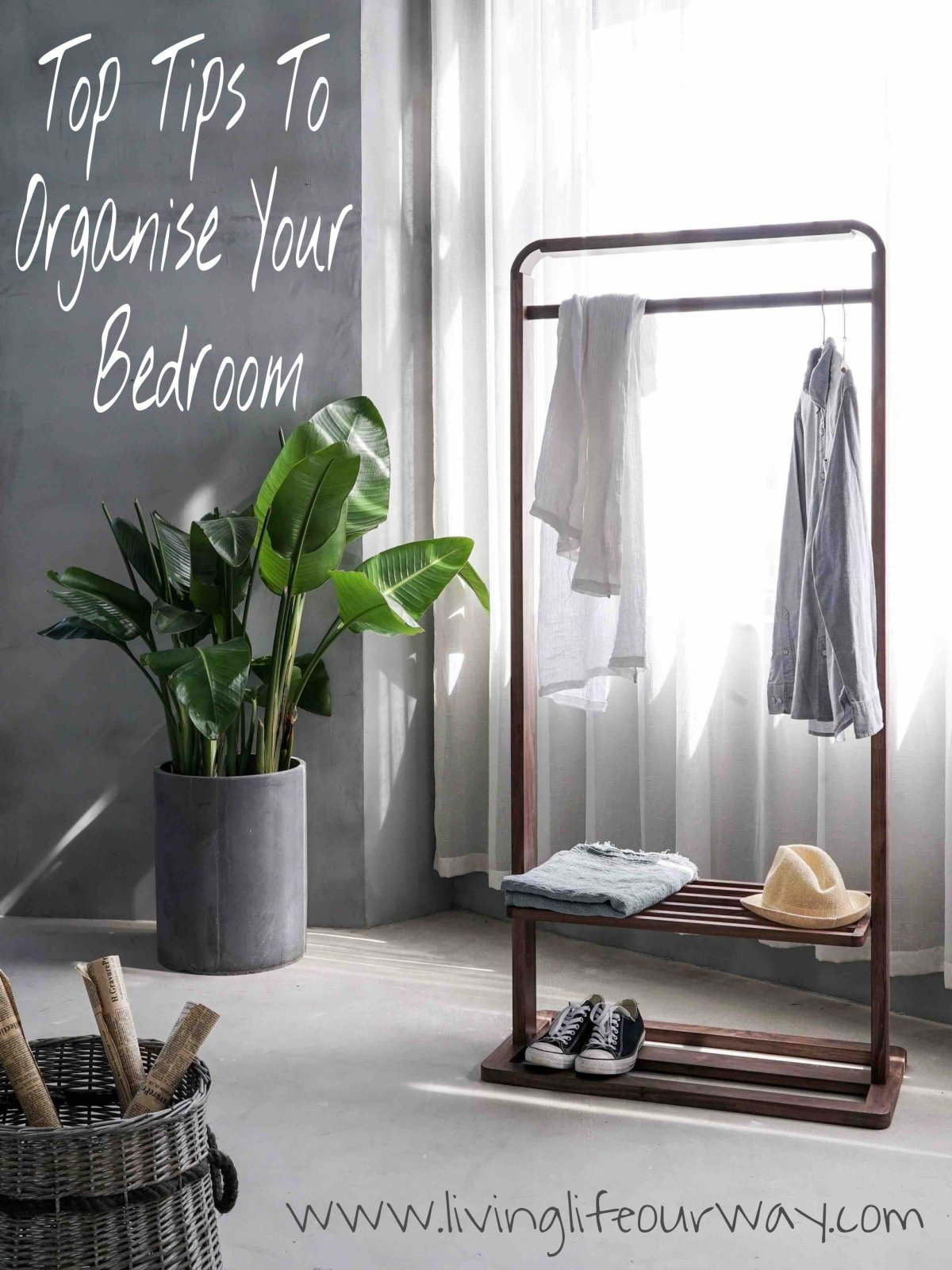Organise Your Bedroom #StorageForTheWin