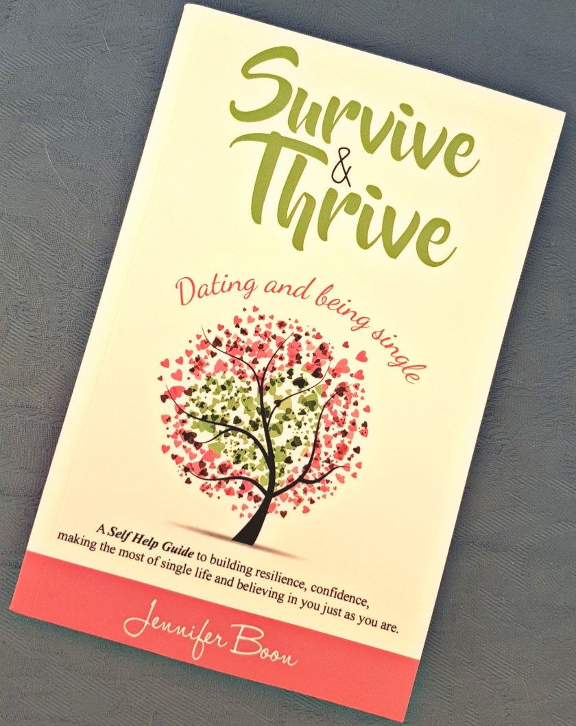 Image of cover of paperback version of Survive and Thrive book.