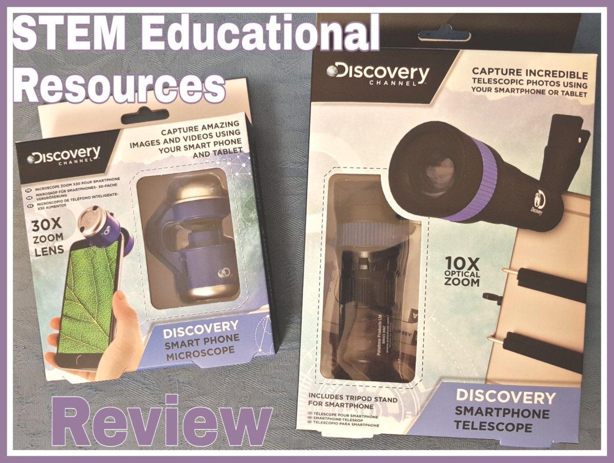 Dicovery Channel Smart Phone Telescope and Smart Phone Microscope Review: Educational Resources – STEM Science