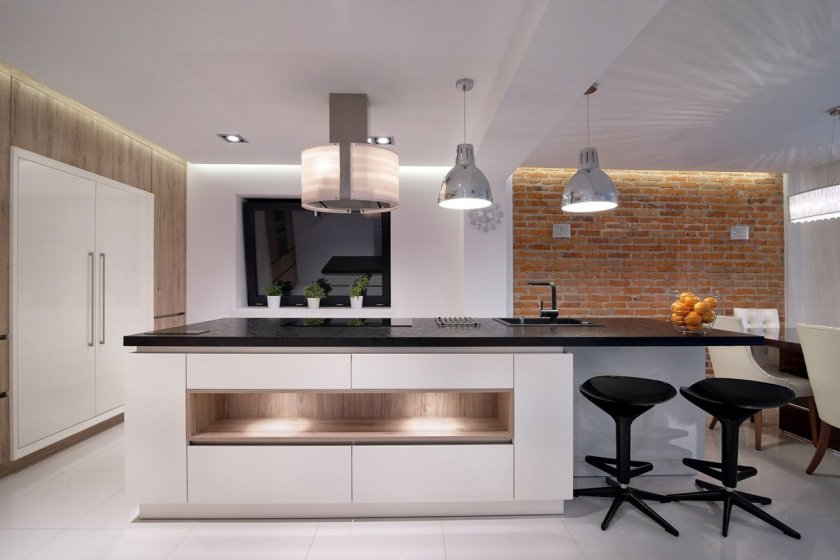 Stock image. Uncluttered spotless kitchen.