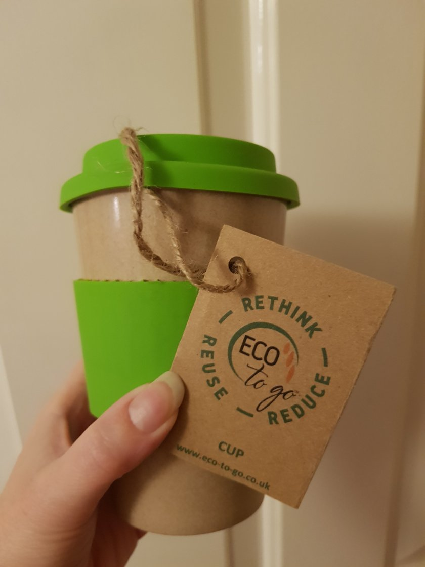 Reusable eco friendly cup