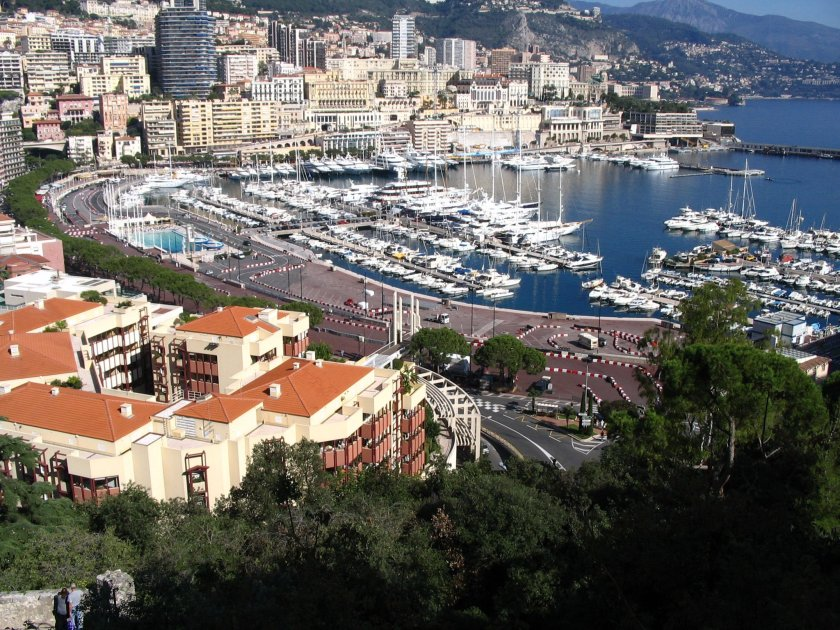 A picturesque view of Monaco