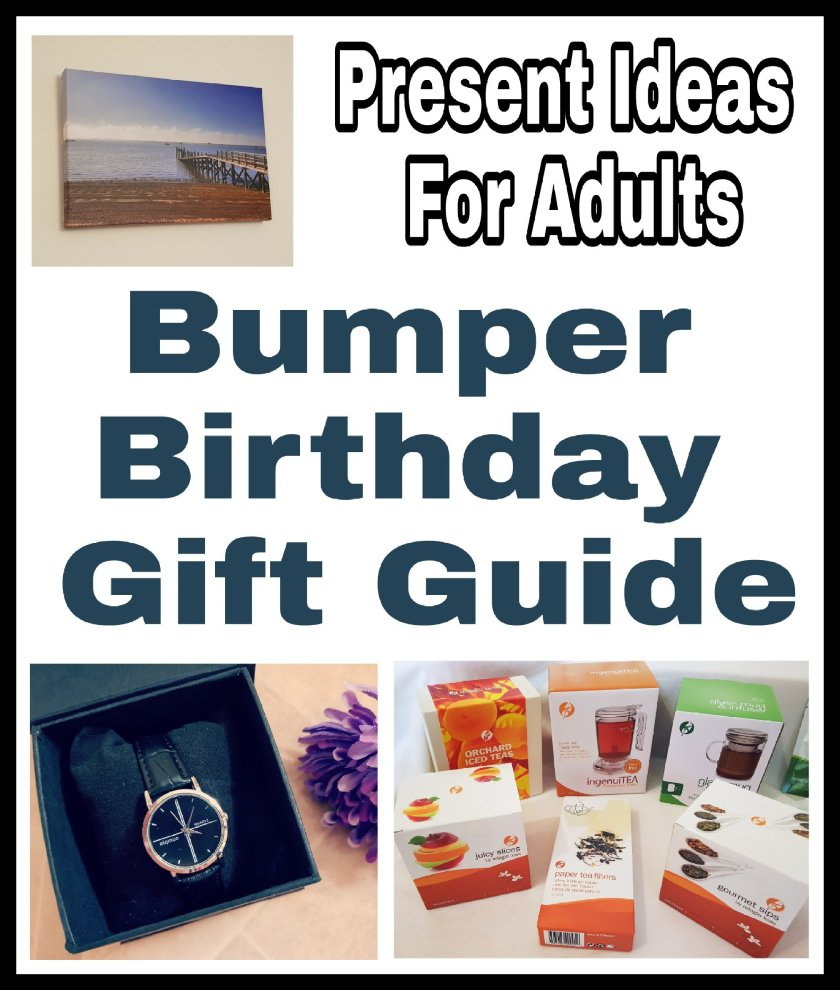 Bumper Birthday Gift Guide: Present Ideas For Adults
