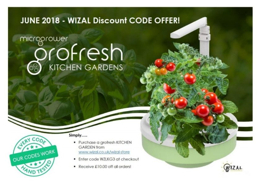 Grofresh kitchen gardens discount code