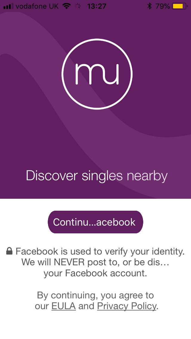 Meetchu dating app home screen