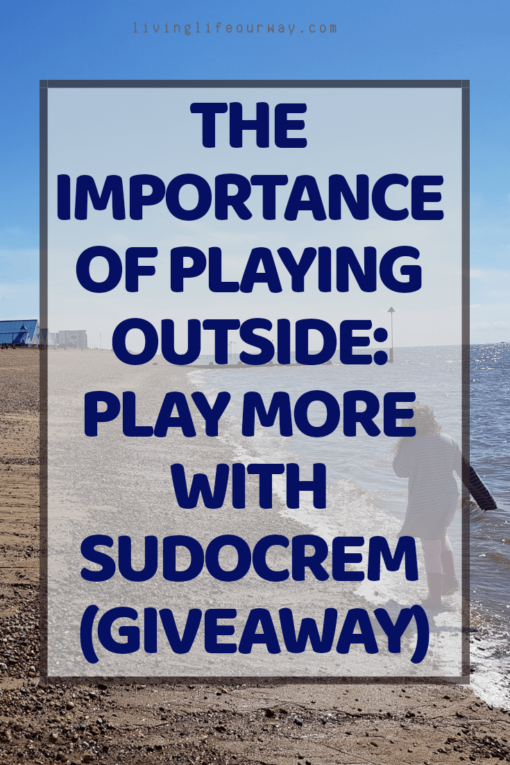 The Importance of Playing Outside: Play More with Sudocrem (Giveaway)