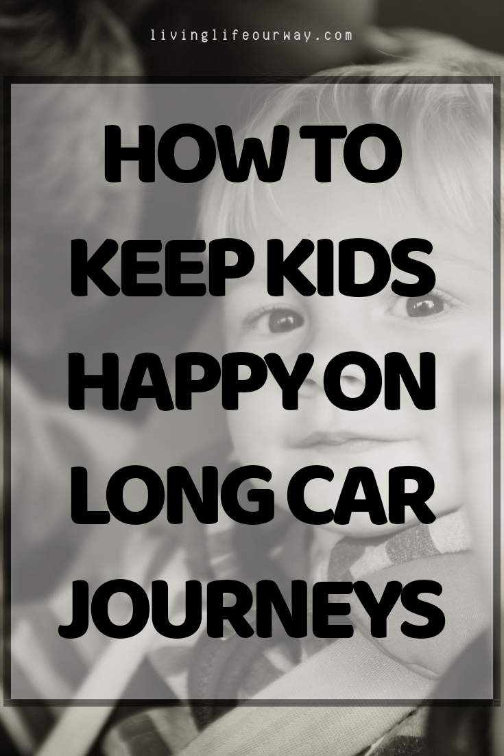 How To Keep Kids Happy On Long Car Journeys