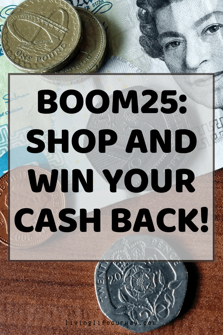 Boom25 – Shop and Win Your Cash Back!