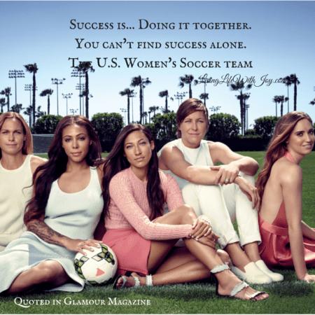 US Soccer Team - Glamour