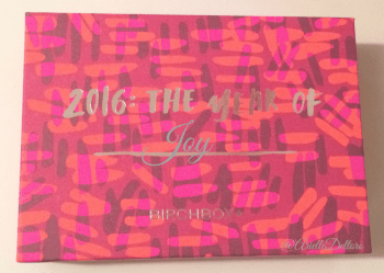 January 2016 - The Year of Joy