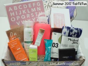 FabFitFun Review Summer 2017