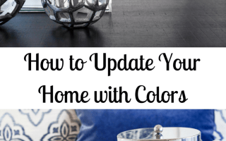How to Update Your Home with Colors