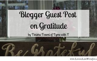 Guest Blogger Post on Gratitude