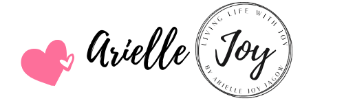 Arielle Joy Signature on LivingLifeWithJoy.com