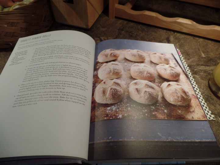 A few weeks ago, my friend Mark came over and we made rolls from Paul Hollywood's cookbook.