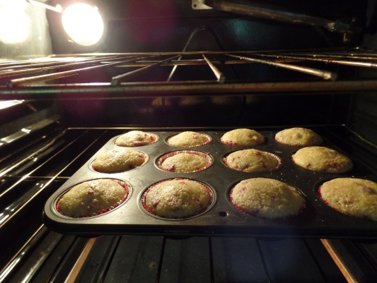 The recipe said to line the muffin cups with cooking spray but I didn't do that. WHAT NOW???