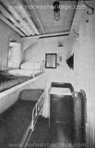 2 berth stateroom, 3rd class