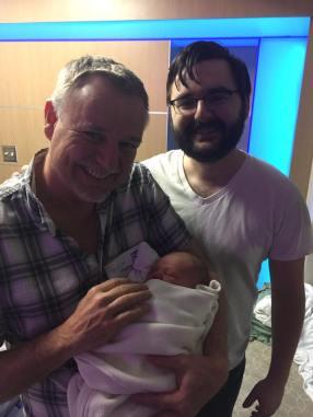 TR, dad, and grandpa.