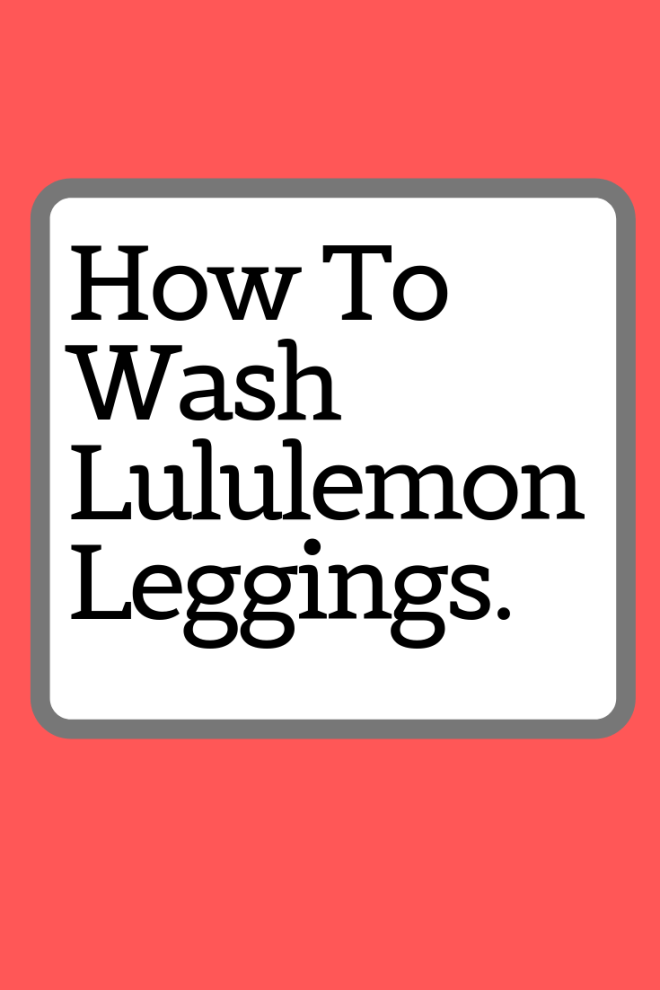 6154168726 Live a life where your Lululemon leggings stop pilling. For good.