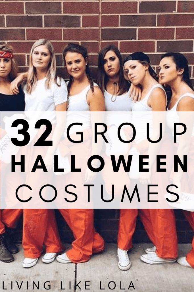 Best Frat Halloween Costumes 2020 32+ Best Group Halloween Costumes For Teens   Cassi Adams