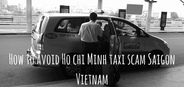 how to avoid taxi scam in ho chi minh city