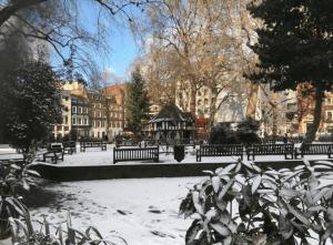 Neve a Londra 2018