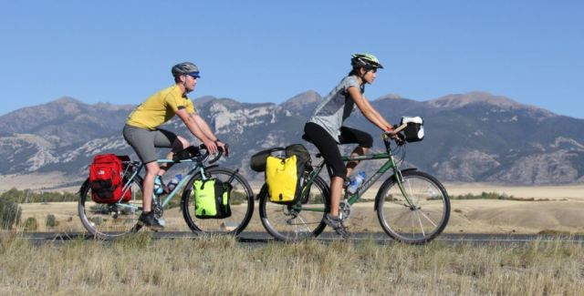 Adventure Cycling - photo credit Rachel Stevens; social distance getaway idea