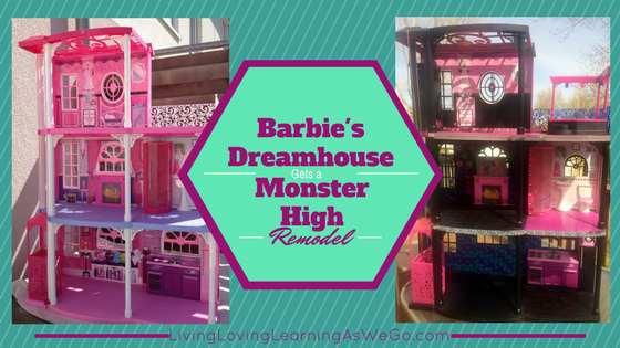Barbie's Dreamhouse Gets a Monster High Remodel