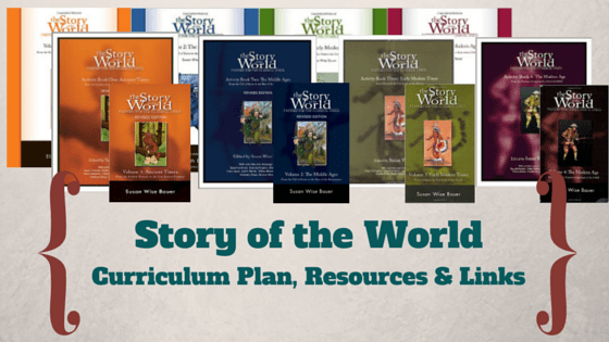 Story of the World Curriculum Plan, Resources, & Links
