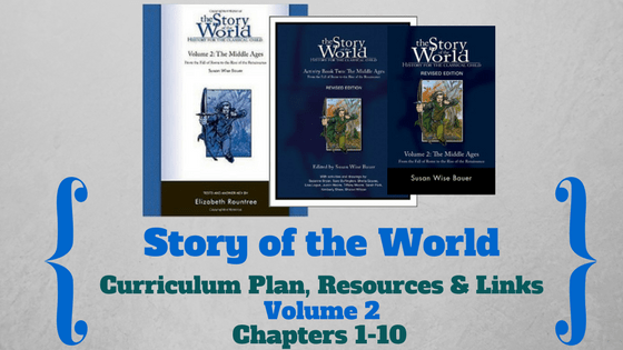 Story of the World: Volume 2- Curriculum Plan, Resources and Links (Chapters 1-10)